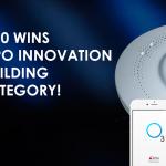 O3 Sensor Hub wins 2020 AHR Expo